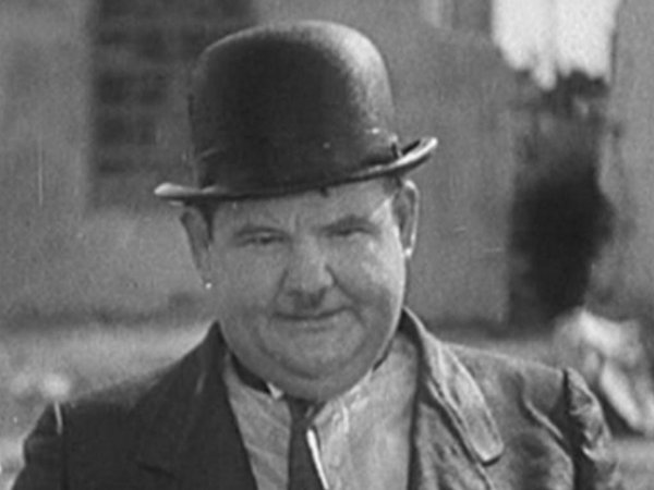 Image result for oliver hardy look at camera