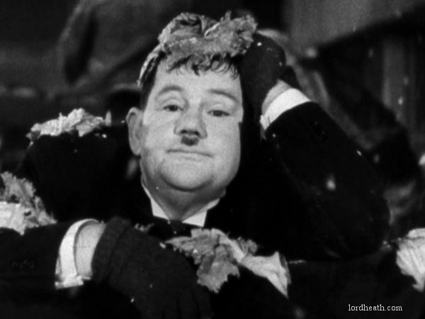 Image result for oliver  hardy the look